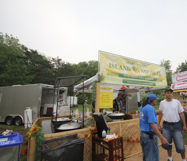 One of the new food stands this year