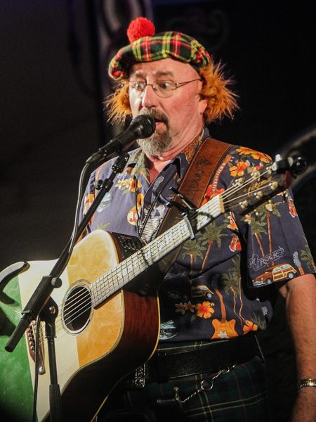 Seamus Kennedy performing at Celtic Classic in 2013