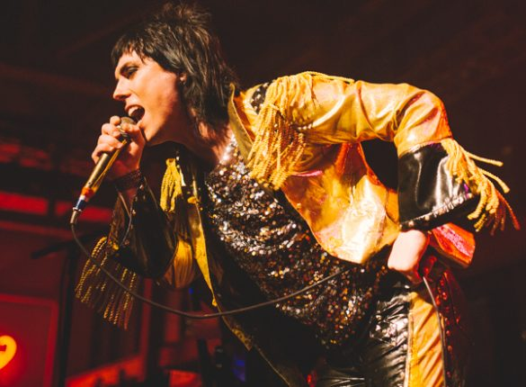 The Struts bring down the house at the Musikfest Cafe
